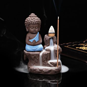 Little Monk Censer Backflow Incense Burner
