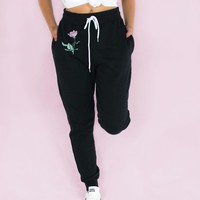 Pink Rose Joggers