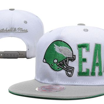 Philadelphia Eagles Snapback NFL Football Caps M&N