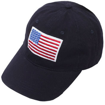American Flag Patch Navy Cap