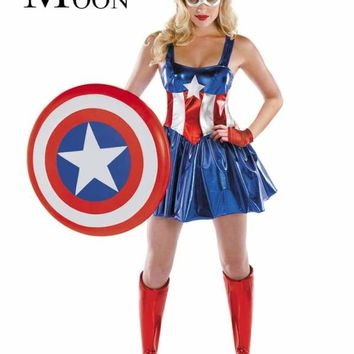 MOONIGHT Women Costumes, Sexy Halloween Costumes, Cosplay Sexy Costume Superhero Dress For Women Macchar Cosplay Catalogue