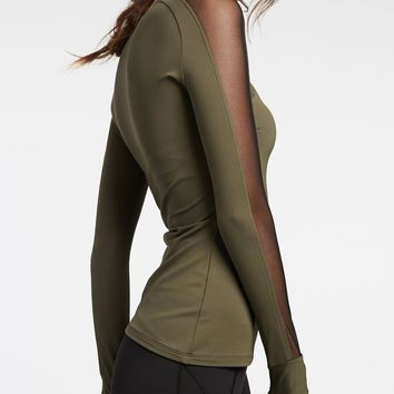 Michi Bolt Top - Olive
