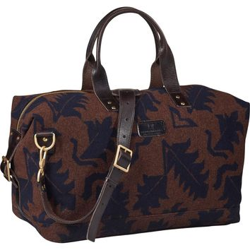 Jacquard Wool Weekend Bag by Scotch & Soda