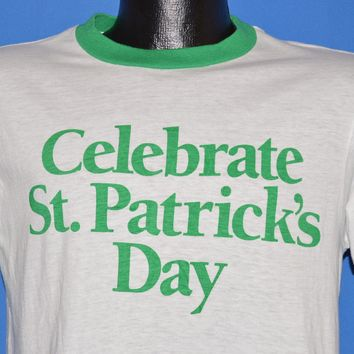 80s Jameson Irish Whiskey St Patrick's Day t-shirt Medium