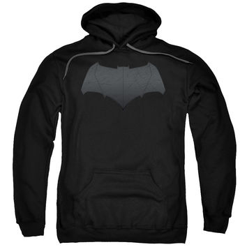 BATMAN V SUPERMAN/BATMAN LOGO-ADULT PULL-OVER HOODIE-BLACK