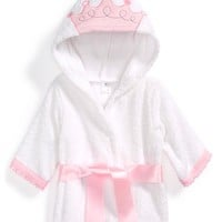 Infant Baby Aspen 'Little Princess' Hooded Terry Robe