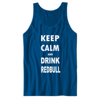 Keep Calm And Drink Redbull - Unisex Jersey Tank