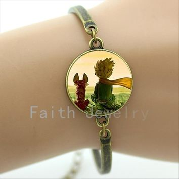 Best friends gifts interesting design lovely cartoon The Little Prince bracelet cute jewelry to give children kids girls HH067