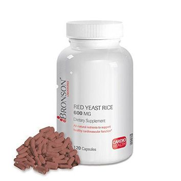 [Pack of 2] Bronson Labs: Red Yeast Rice 120 Capsules Each