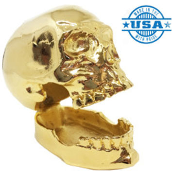 Eternal Life Skull Gold