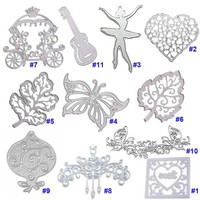 Home DIY New Metal Cutting Carbon Steel Keylock Dies Stencil Scrapbook Embossing Card Album Craft New Fashion LS