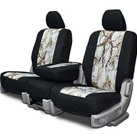 Custom Fit Seat Covers For Ford Ranger 40-60 High Back Seats - Neoprene & Snow Camo