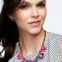 Bright Colored Stone Long Statement Necklace | Frida Necklace | Stella & Dot