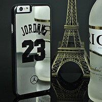 NBA Michael Jordan 23 Hard Mirror Phone Case/Cover for iPhone 6s 6 Plus 5 5s SE