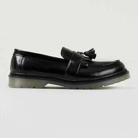 Astro Black Leather Chunky Loafers