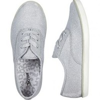 Shimmer Lace Up Sneakers | Girls Sneakers Shoes | Shop Justice