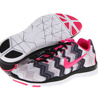 Nike Free TR Fit 3 Print Black/Wolf Grey/White/Pink Foil - Zappos.com Free Shipping BOTH Ways