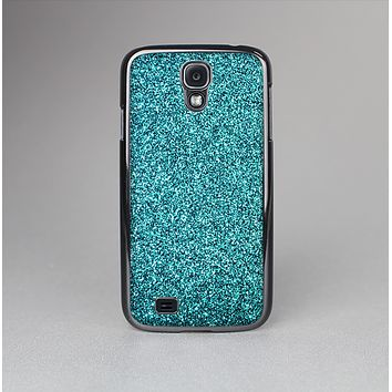 The Teal Glitter Ultra Metallic Skin-Sert Case for the Samsung Galaxy S4