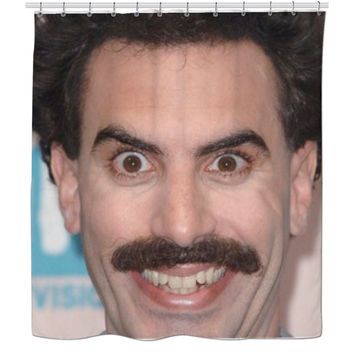 Borat Shower Curtain