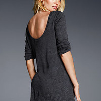 Scoop-back Tunic - A Kiss of Cashmere - Victoria's Secret