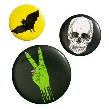 3-pack Buttons - from H&M