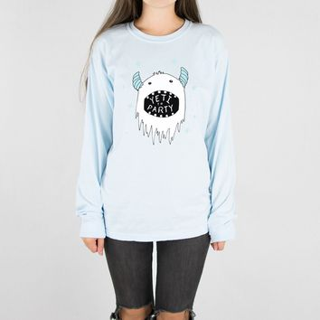 Yeti To Party Long Sleeve