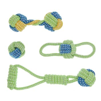 Cotton Dog Rope Puppy Chew Teething Toys