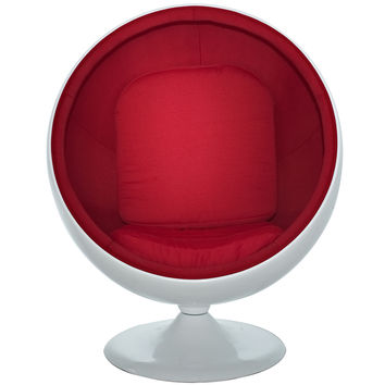 Kaddur Lounge Chair Red