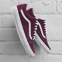 Vans Old Skool Classics Wine Red Sneaker
