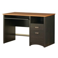 South Shore Furniture, Gascony Collection, Desk, Ebony and Spice wood