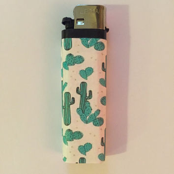Cactus Buddy Lighter
