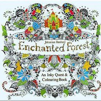 Trippy Adult Coloring Books Enchanted Forest