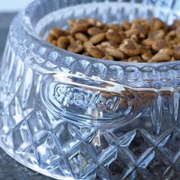 PAMPERED PET BOWL - Crystal Dog Food Bowl