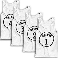 Drunks 1-2 (Out of 4) Best Friends Tees!