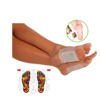 50pcs/lot Kinoki Detox Foot Pad Patch Massage Relaxation Bamboo Pain Relief Tens Help Sleep Body Neck Feet Care Massager C032