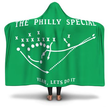 The Philly Special Hooded Blanket