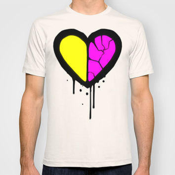 Broken Heart T-shirt by Ava's Demon Print Shop!
