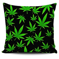 """Weed Print 18"""" Pillow Covers"""