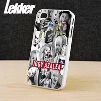 Iggy Azalea Collage for iPhone 4/4s/5/5S/5C And Samsung Galaxy S3/S4/S5