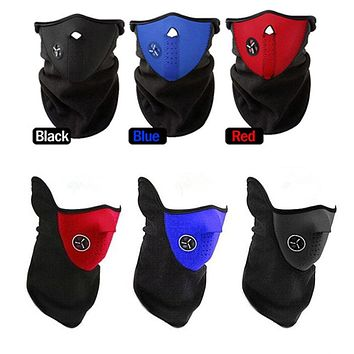 TraAcc Anti Dust Pollution Motorcycle Face Mouth Ski Masks Winter Cold Weather Half Face Mask