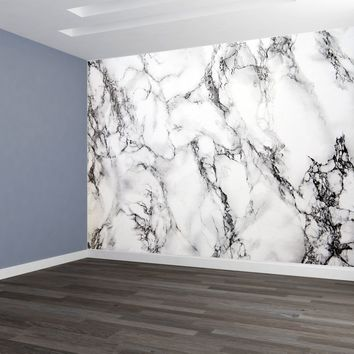 Marble Wallpaper Mural Deep Pattern Peel and Stick
