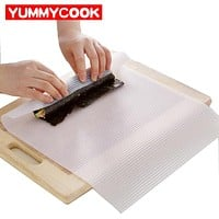 Silicone Sushi Rolling Mat Cooking Baking Pastry Tool Kitchen Gadget Accessories Supplies Gear Items Stuff Products