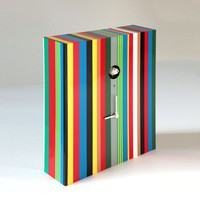 Suite 22 Interiors: Arcoiris Clock Multi