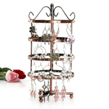Rotatable Jewellery Earring Display Stand