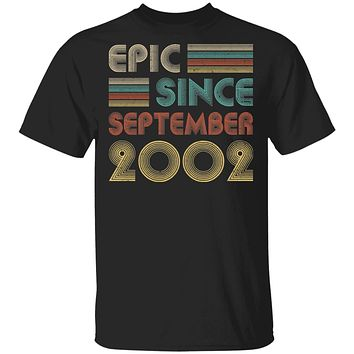 Epic Since September 2002 Vintage 18th Birthday Gifts