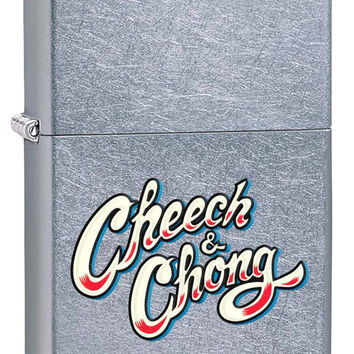 Zippo Cheech & Chong Street Chrome Lighter 217