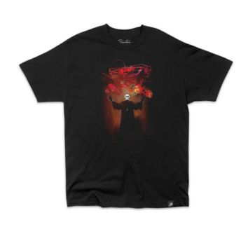 Frazetta Death Tee In Black