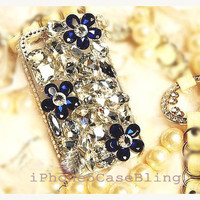 iPhone 5 Case, iPhone 4 Case, iPhone 4s Case, bling iphone 4 case, iphone 5 bling case, floral iphone 4 case, Cute iphone 4 case, iphone 5