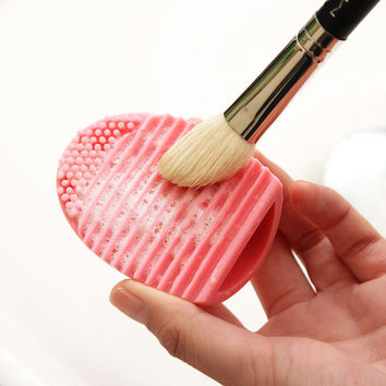 On Sale Hot Sale Beauty Make-up Hot Deal Brush Soft Silicone Tools Make-up Brush [6050335297]