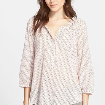 Women's Joie 'Mabelle' Print Cotton Blouse,
